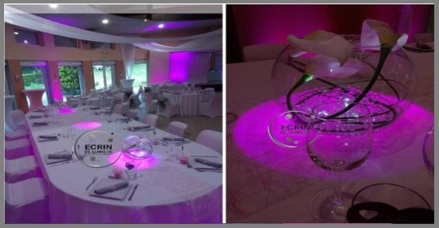 location housse de chaise, location de mobilier lumineux, location ... - Location De Table Et Chaises